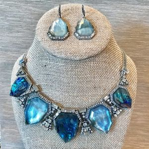Northern Lights Necklace + Earrings